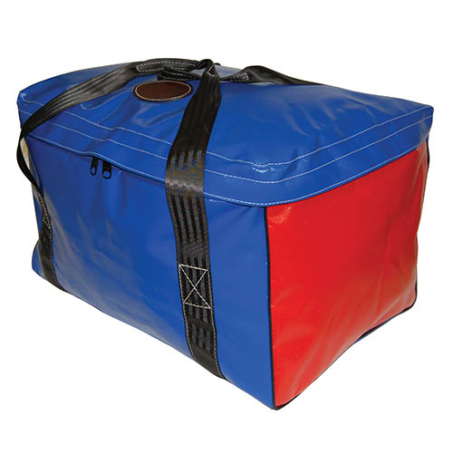 Vinyl Square Gear Bag with Top Flap 1