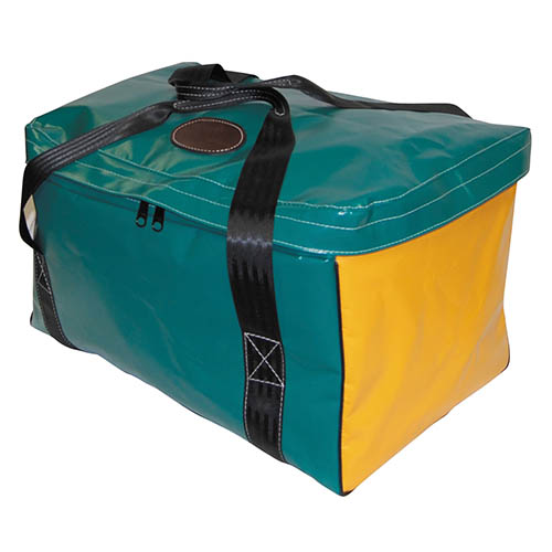 Vinyl Square Gear Bag with Top Flap 2