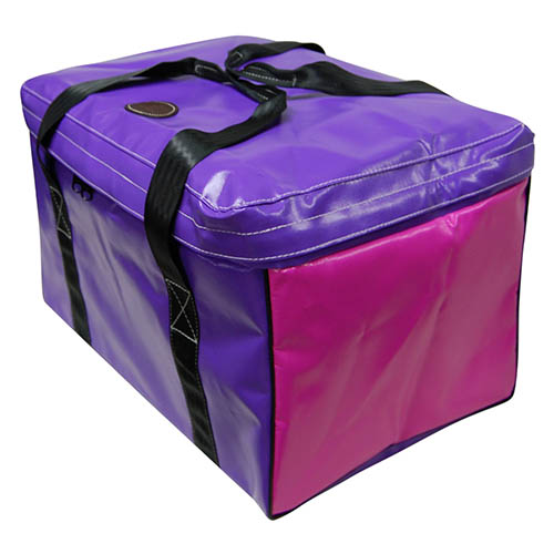 Vinyl Square Gear Bag with Top Flap 3