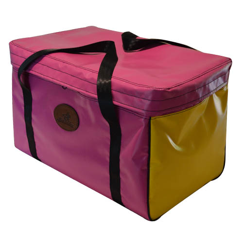 Vinyl Square Gear Bag with Top Flap 4