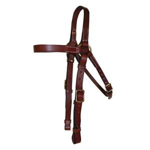Leather Bridle, Barcoo, Bridle Head