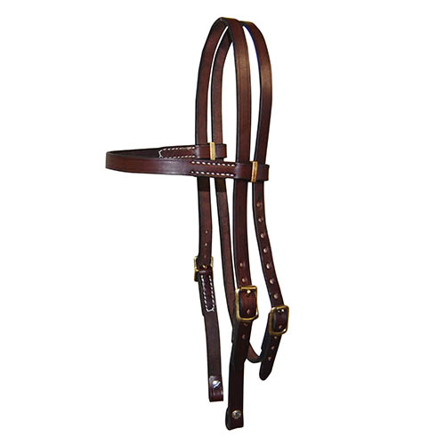 Leather Bridle, Pelham, Bridle Head