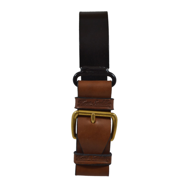 Strap for Condamine Bell, with Metal Hanger - Brass