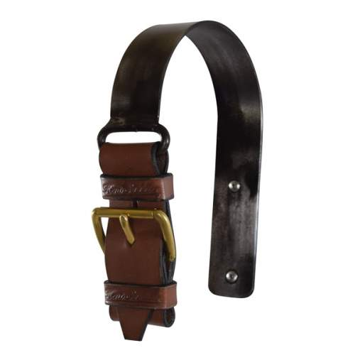 Condamine Bell Leather Strap and Brass Hanger