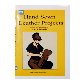 Book, Ron Edwards, Hand Sewn Leather Projects