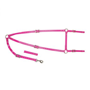 PVC Stockmans Breastplate, Pink
