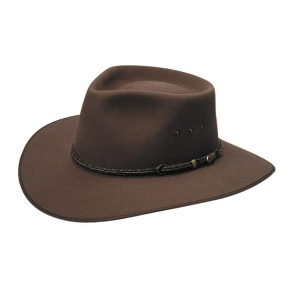 Hat, Akubra, Cattleman, Fawn