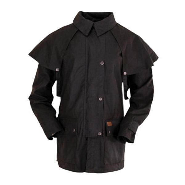 Coat, Oilskin, 3/4 Length