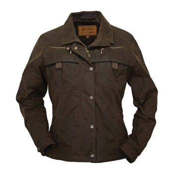 Coat, Round Up, Oilskin Jacket