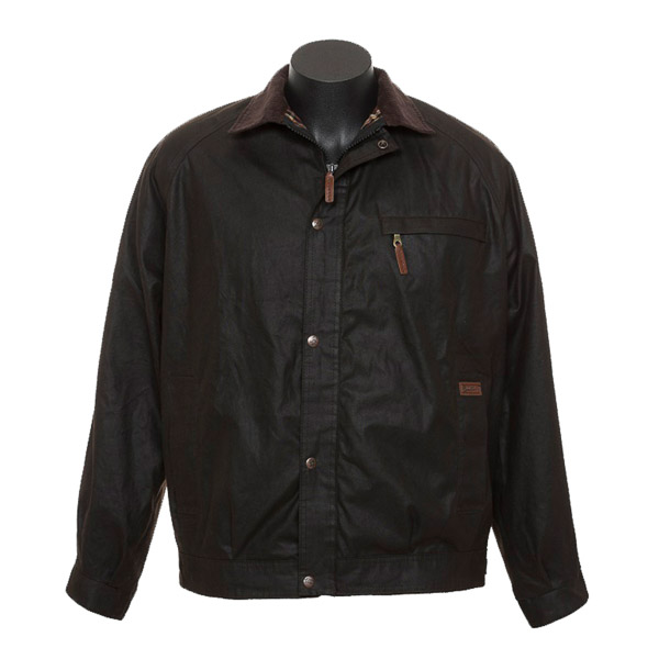 Coat, Bendigo, Oilskin Mens Jacket