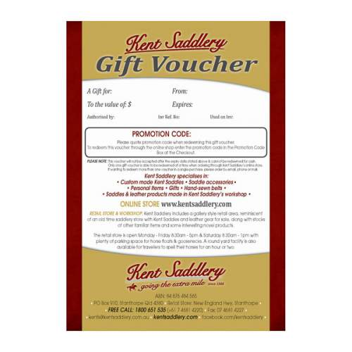 Gift Voucher, full view