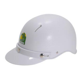 Helmet, Aussie Rider, White