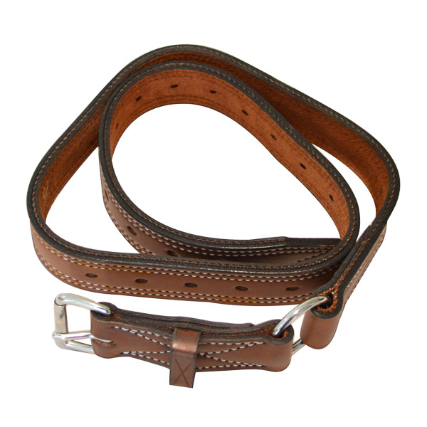 """Bull Strap, Solid Leather, 1 1/4"""" (32mm)"""