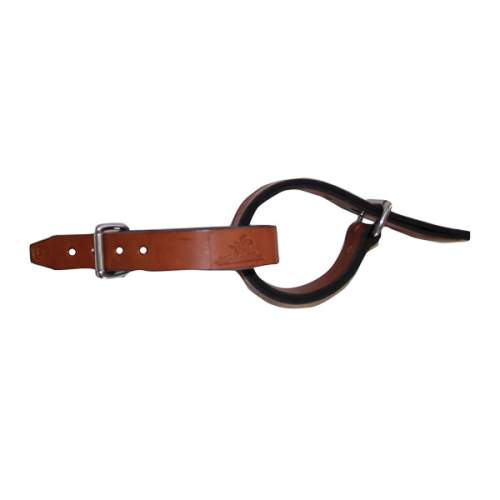 "Hobble Straps, 1 1/4"" (32mm) Leather Belt SS Buckles"