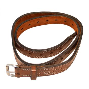 "Bull Strap, Solid Leather, No Ring, 1 1/4"" (32mm)"