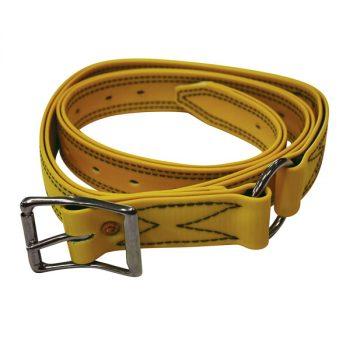 Bull Strap, Yellow PVC