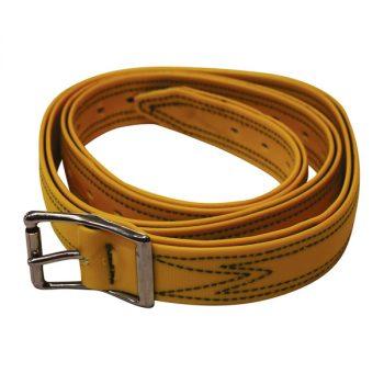 Bull Strap, Yellow PVC, No Ring