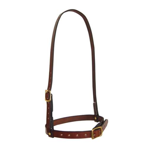 Caverson Noseband, Solid Leather