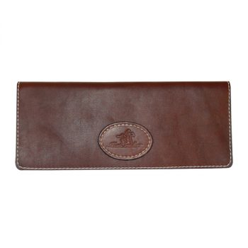 Cheque Book Cover, Solid Leather