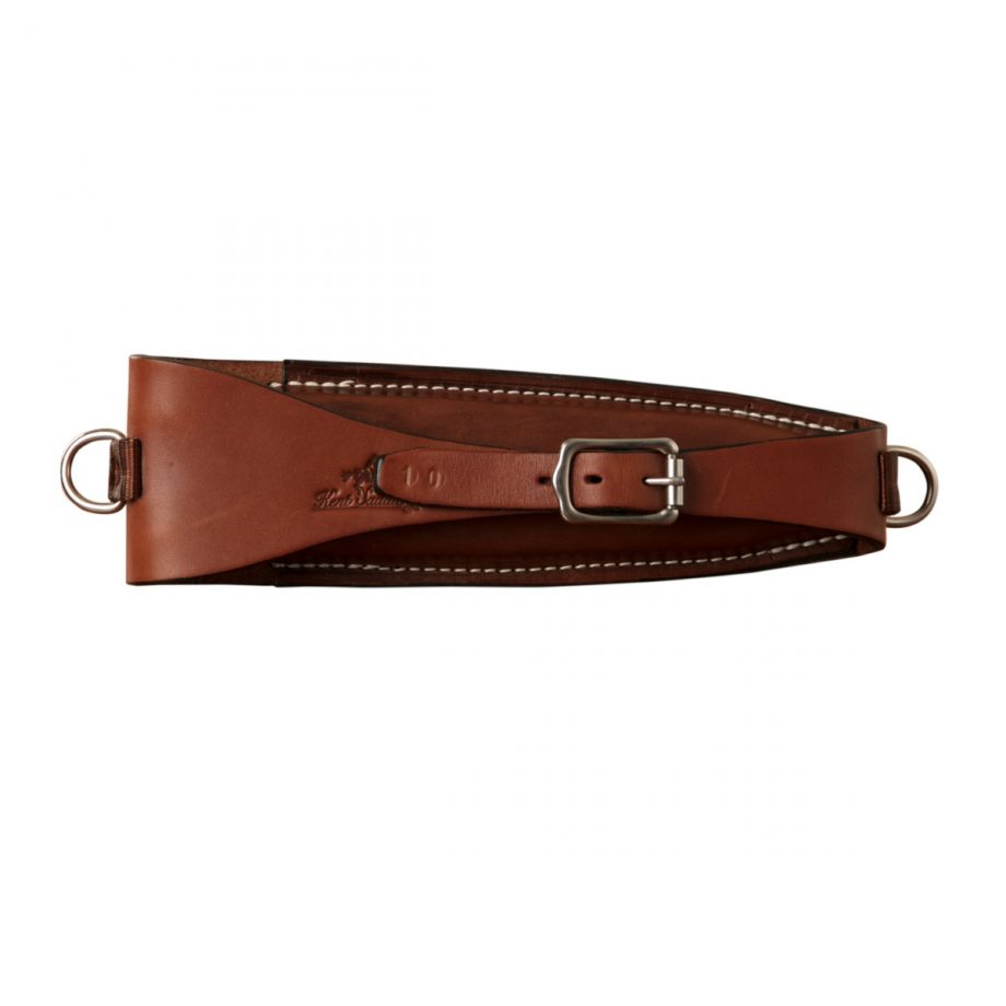 Pouch, Solid Leather, to fit on back of saddle cantle for Crescent Pliers 1