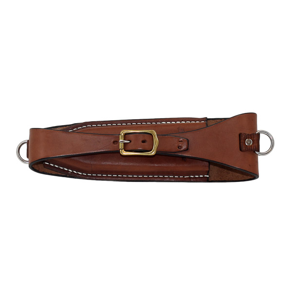 Pouch, Solid Leather, to fit on back of saddle cantle