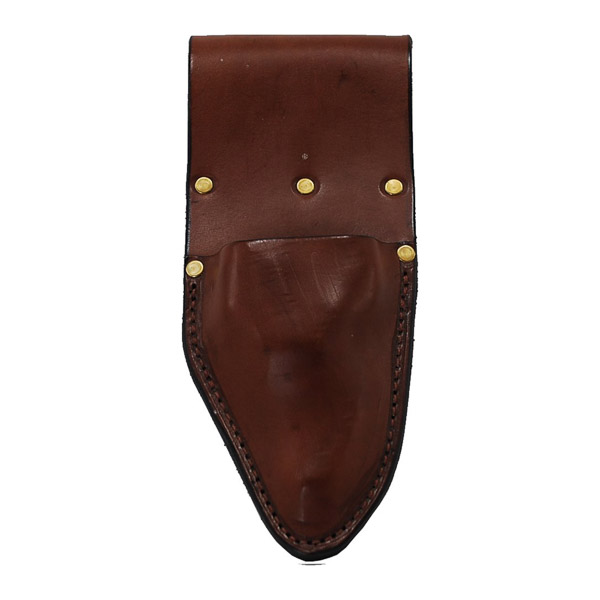 Pouch, Solid leather, Worn on Belt for Pruners.