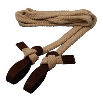 Tubular Cotton Reins, One Piece
