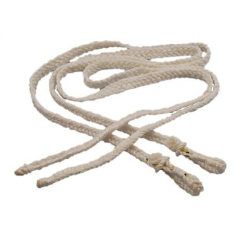 Plaited Rope Reins, Campdraft