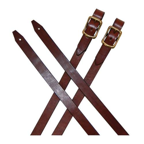 Leather Reins, with buckles