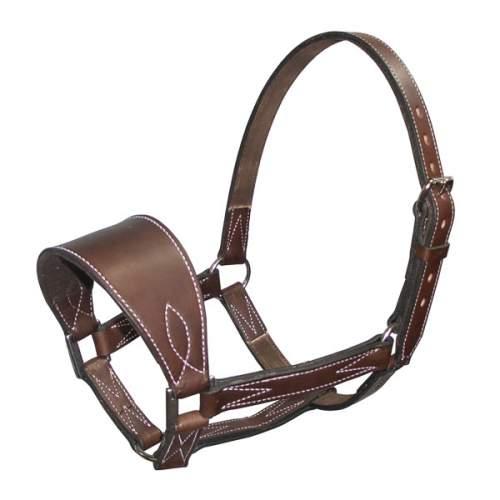 Bronc Halter, Solid Leather