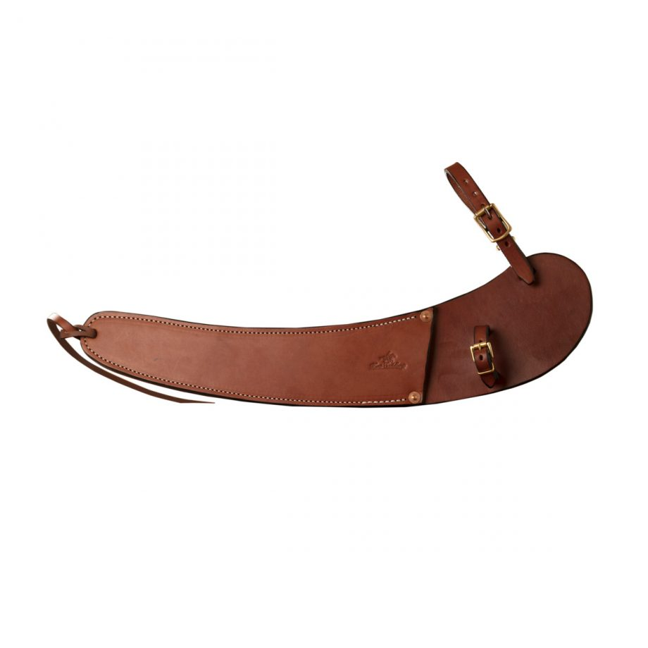 Pouch for Dehorning Saw, Solid Leather 1
