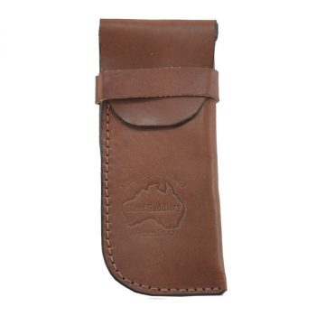 Glasses Case, Soft Leather,150mm x 65mm