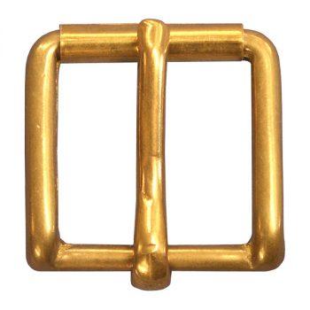 Buckle, Harness Roller, Brass