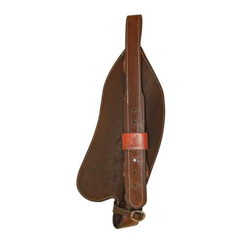 "Fenders, Solid Leather, for Spring Bars, with 2"" leather straps and blevin buckles"