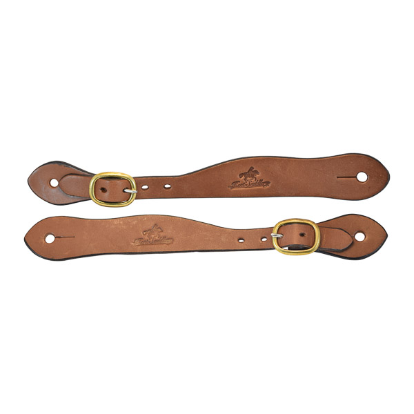 Spur Straps, Solid Leather, Two Piece