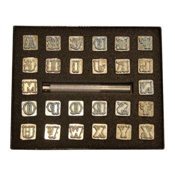 Stamp Set, Alphabet