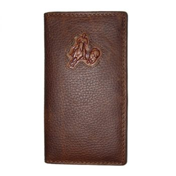 Wallet, Solid Leather, Tall Style, Campdrafter, Brown