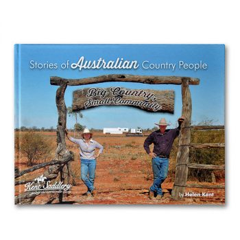 Stories of Australian Country People, by Helen Kent - Cover mockup