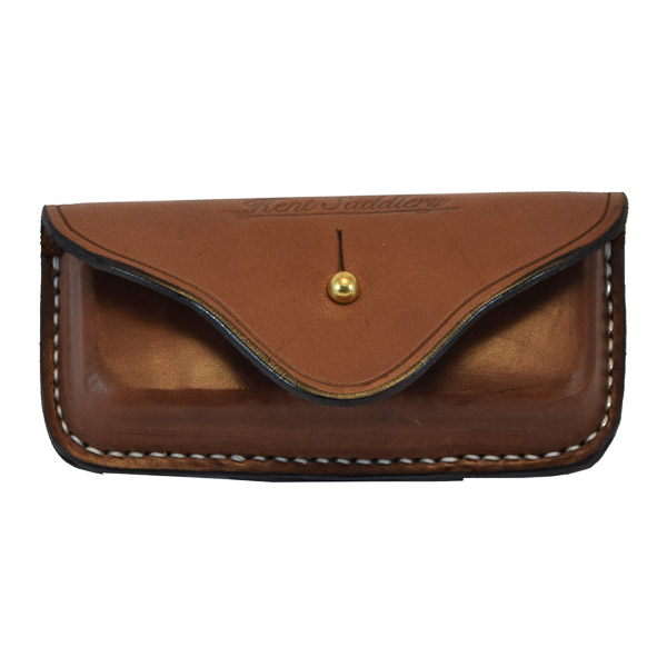 Pouch, for Leatherman Tool, Solid Leather, with Top Flap, Large