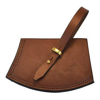 Axe Cover, Solid Leather