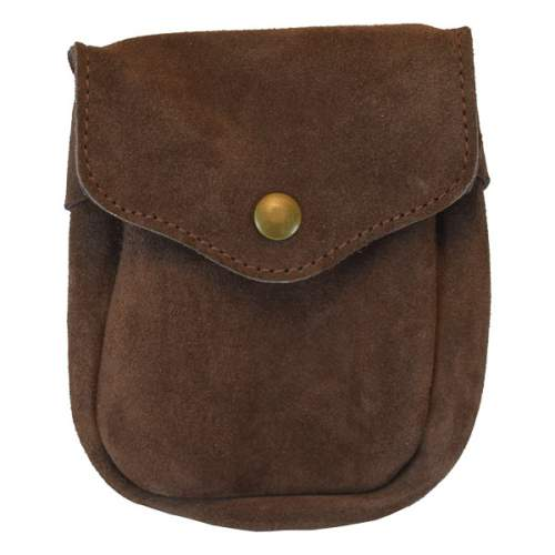 Bag Utility, Weatherproof, Suede Leather, Medium, for Belt