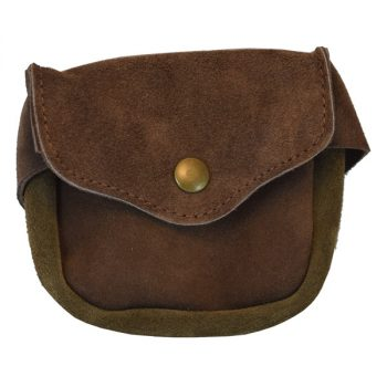 Bag Utility, Weatherproof, Suede Leather, Small, for Belt