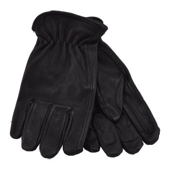 Glove, Black Deer Driver W/Palm & Finger Patches