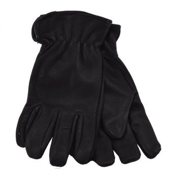 Glove, Black Deer Driver W/Fleece