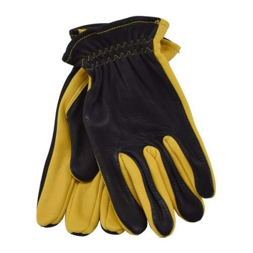 Glove, Black/Gold Deer Shortcut