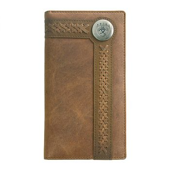Wallet, Ariat, Tall, Edge Lacing
