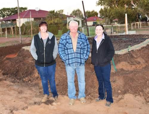 Crossy, Rikki, and Jacinta. Keeroongooloo, QLD