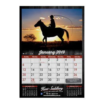 Kent Saddlery 2019 Calendar - January