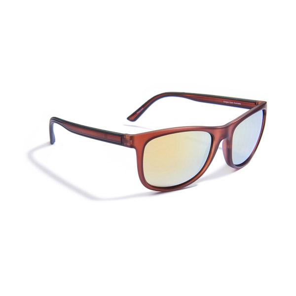 Sunglasses, Gidgee-Eyes, Fender – Gold, Honey Frame, Gold Revo Lens