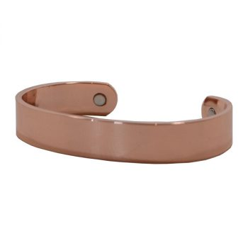 Bracelet, Thick Plain Copper